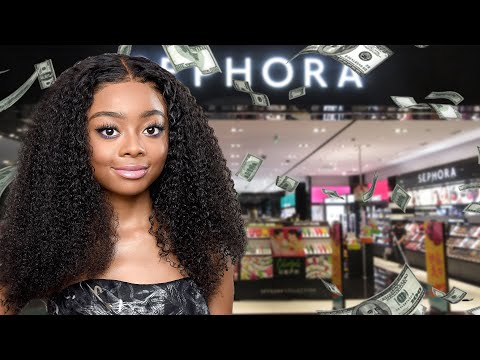 I SPENT 1,000 DOLLARS AT SEPHORA? | SKAI JACKSON