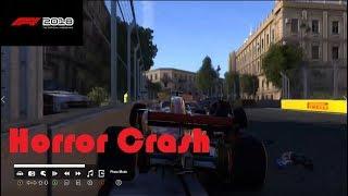 F1 2018 Online-Horror Crash