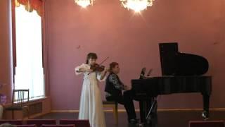 Ш.Данкля Концертное соло Толмачева Валерия 10 лет