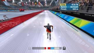 Torino 2006 Speed Skating PC Gameplay