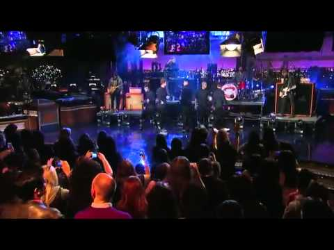 Live on Letterman - The Wanted (11/04/13)