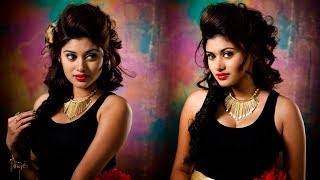 Oviya latest hot navel and cleavage show video photo shoot Trending