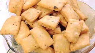 Crispy Namak Pare Recipe   Khasta Namak Para   Namak Paray Recipe