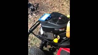 1999 Troy bilt riding lawn mower sea foamed