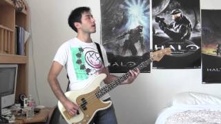 Blink-182 - The Rock Show Bass Cover (With Tab)