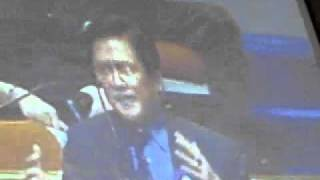 Roilo Golez interpellation, speech of Cong. Jun Alcover, Anad PartyList, 7 March 2011 (4)
