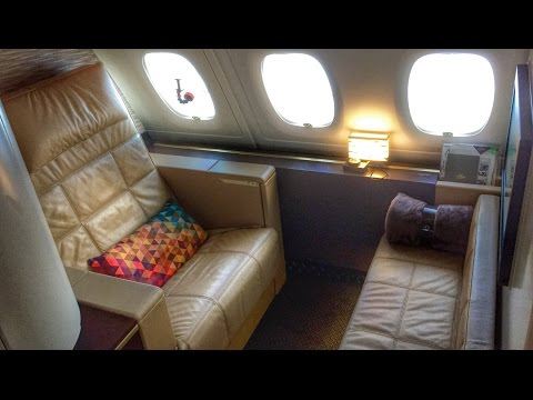 Etihad First Class Apartment A380 Full Review! AUH-LHR