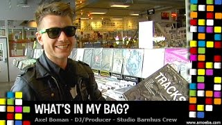 Axel Boman - What's In My Bag?