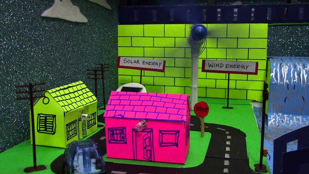 Renewable Energy Project For Kids Youtube