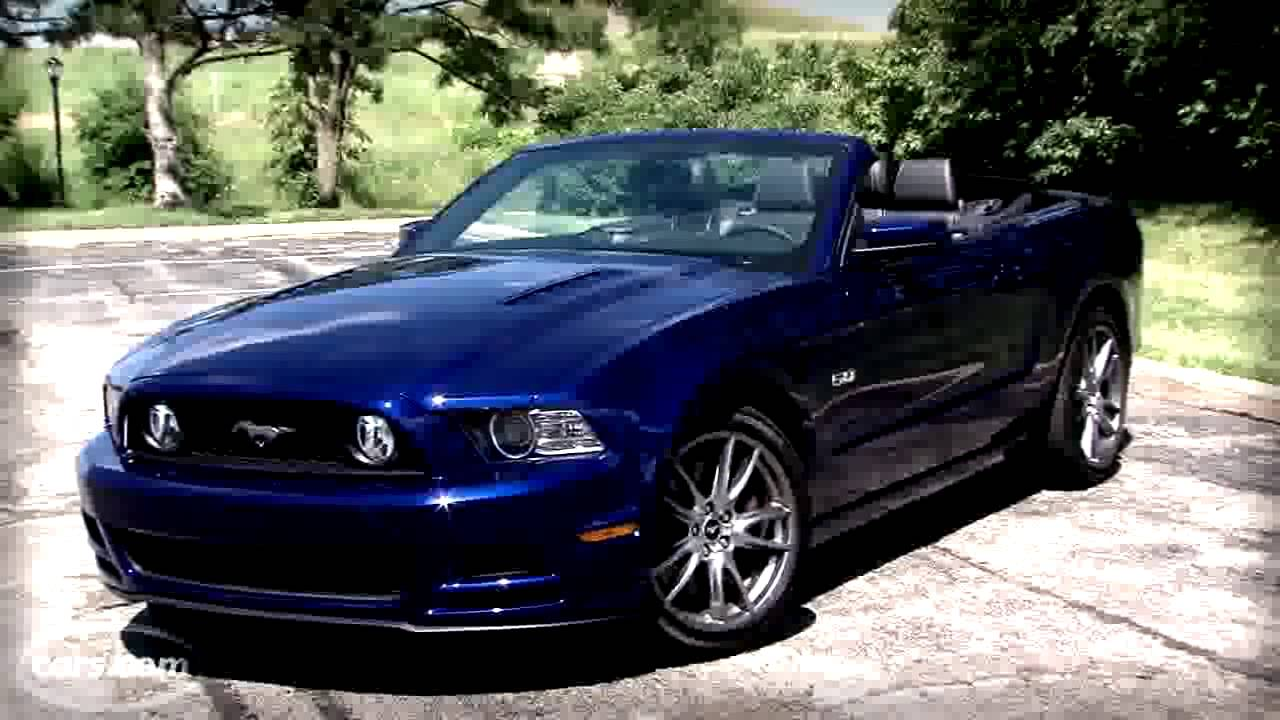 2014 ford mustang gt convertible cars video review - youtube
