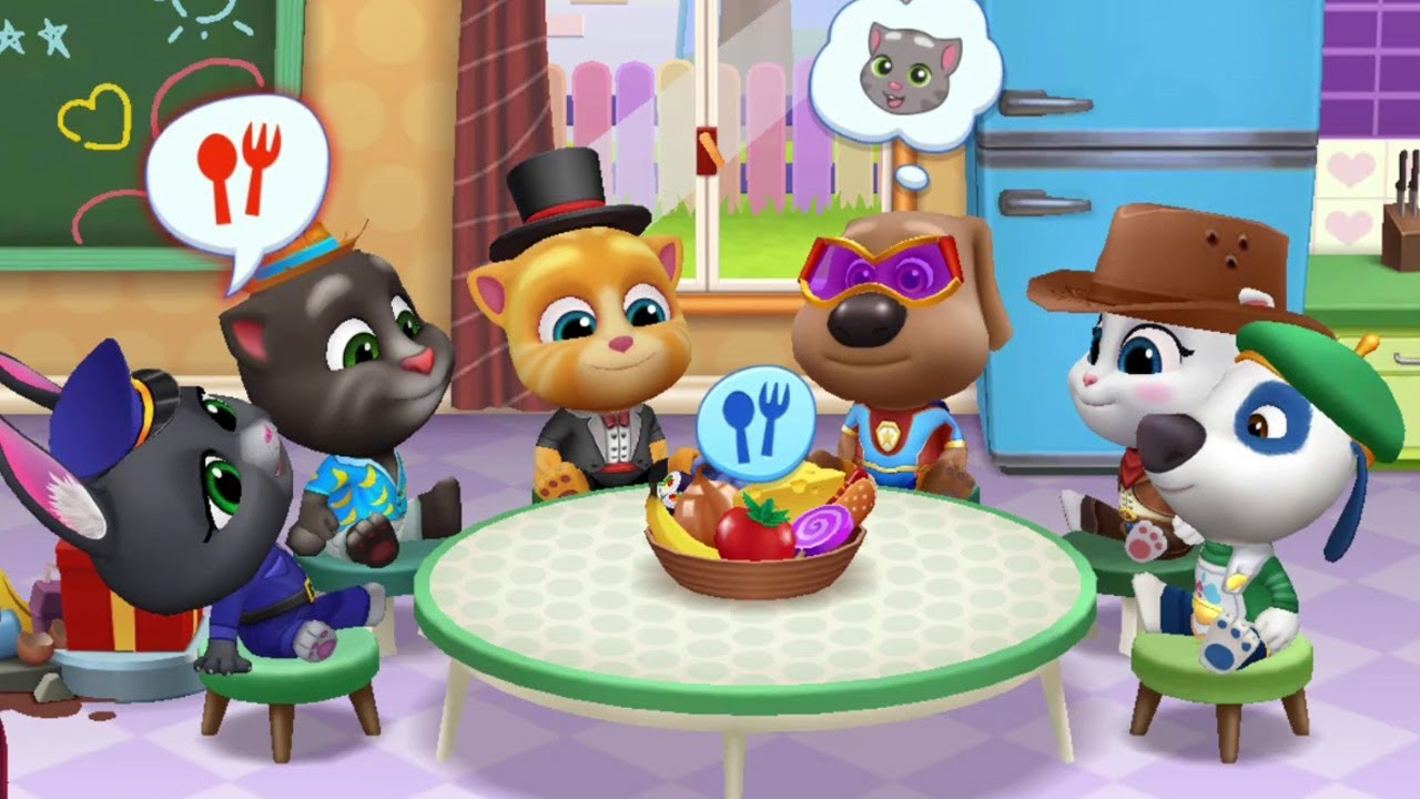 My Talking Tom Friends (by Outfit7) - New Updated 2020 #3