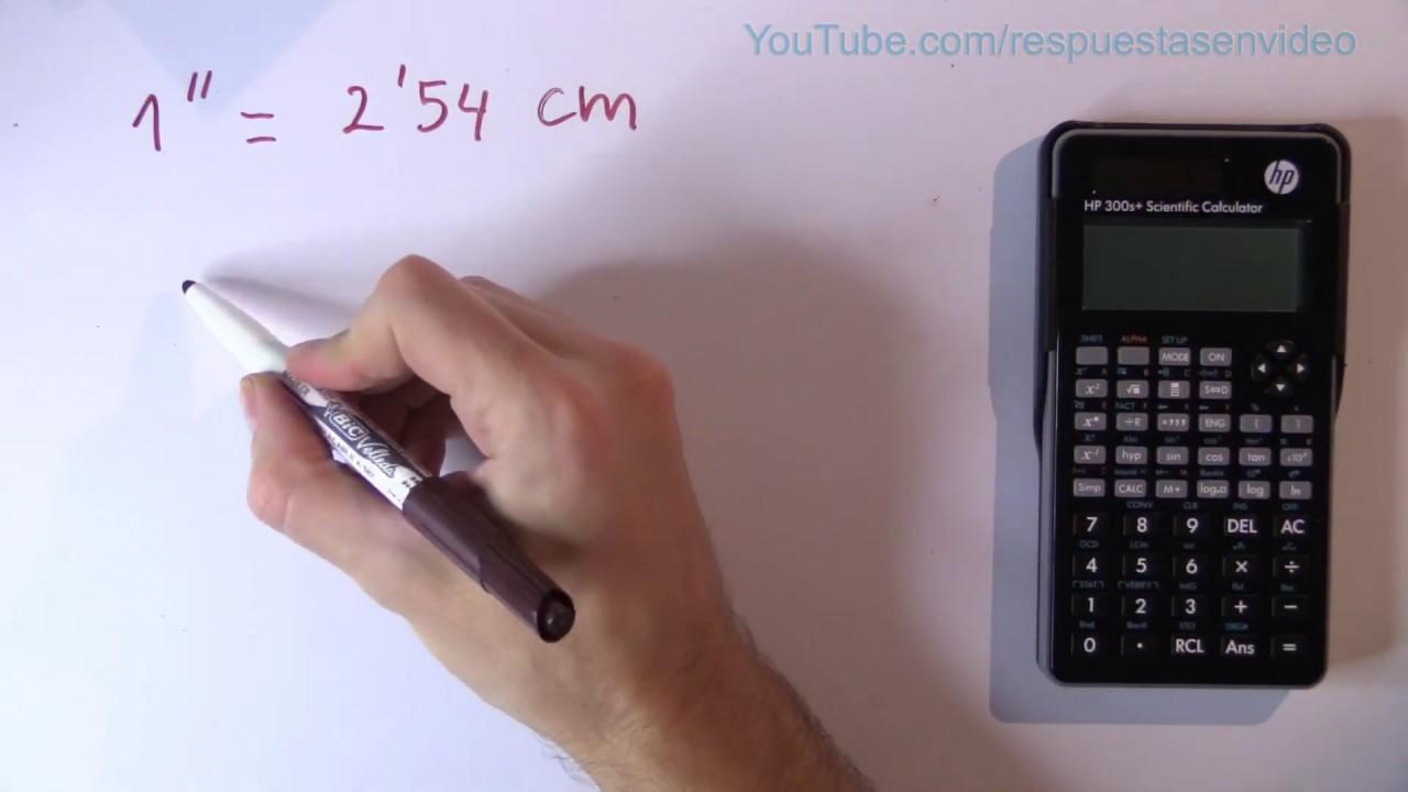 Cuántos Centímetros Son 32 Pulgadas 32 En Cm Youtube