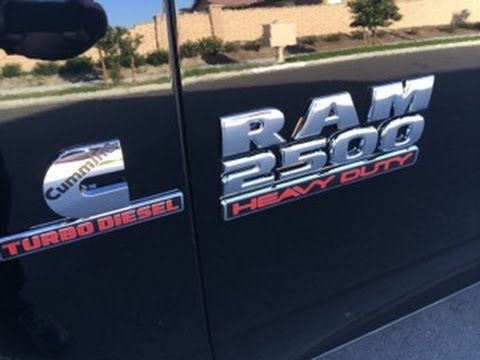 oil change on 2014 ram 2500 cummins diesel youtube. Black Bedroom Furniture Sets. Home Design Ideas