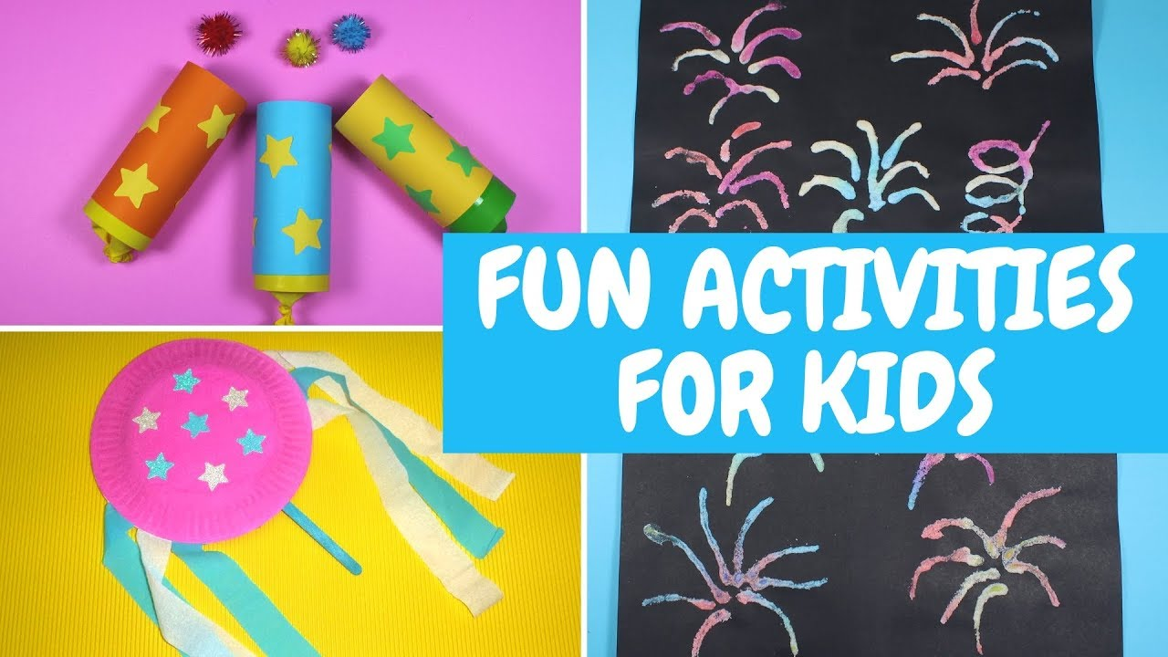 Fun Activities For Kids New Year Eve Craft Ideas For Kids Youtube