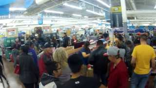 Black Friday at Walmart had Sales on TVs and More and Mega Shoppers