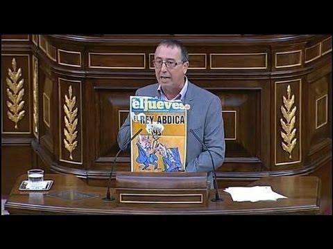 """Baldoví: """"Cuando no se deja que el pueblo decida, algo huele a podrido en el Reino de España"""""""