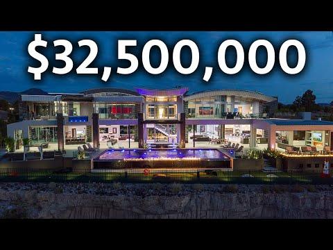 Inside the MOST EXPENSIVE Mega Mansion in Las Vegas | Modern Smart Home