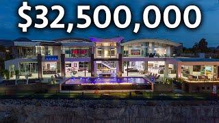 Download Inside the MOST EXPENSIVE Mega Mansion in Las Vegas   Modern Smart Home