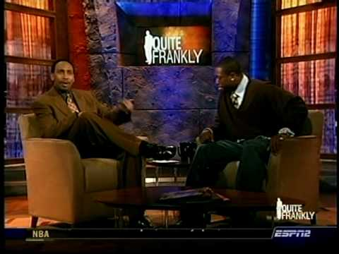 February 07, 2006 - ESPN2 - Miami Heat's Dwyane Wade is Guest on Quite Frankly with Stephen A. Smith
