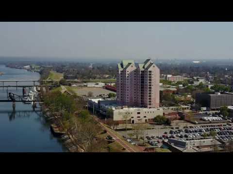 Stunning aerial footage of Augusta Georgia