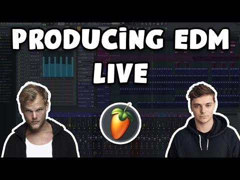 Creating EDM in FL Studio 20 (Live stream from 4/30/20)