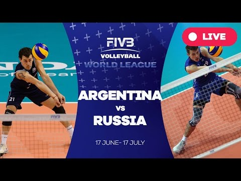 Argentina v Russia - Group 1: 2016 FIVB Volleyball World League