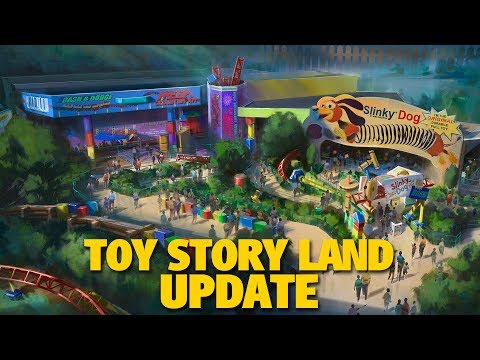 Toy Story Land Update and Opening | D23 Expo 2017
