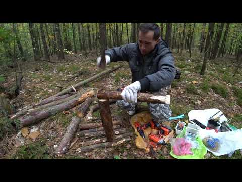 постройка дома в лесу - только бы кровососы не набежали