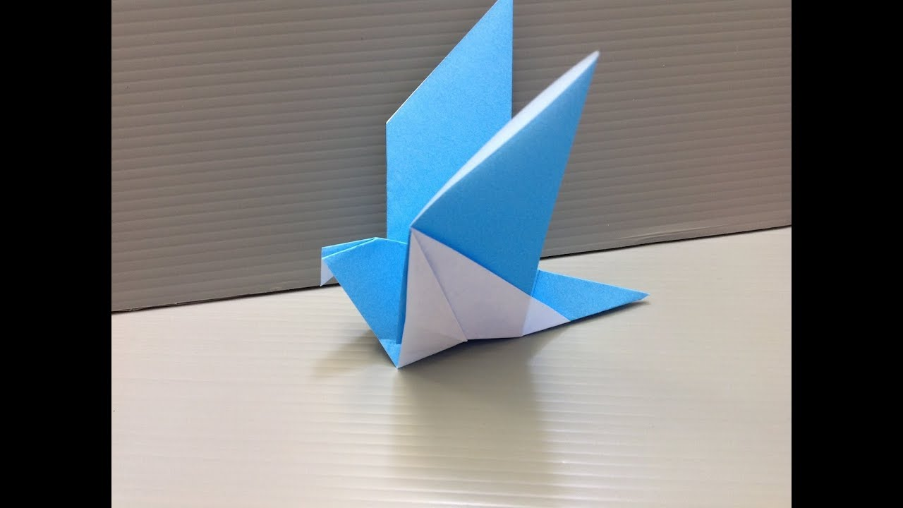 Origami Flying Bird - photo#28