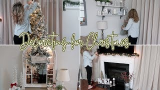 DECORATE WITH ME FOR CHRISTMAS 2018 | DECORATING MY HOUSE FOR CHRISTMAS