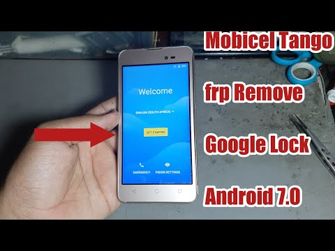 Frp Remove Mobicel Tango Google Lock Android 7.0 FRP Bypass Google Account Without PC 2020