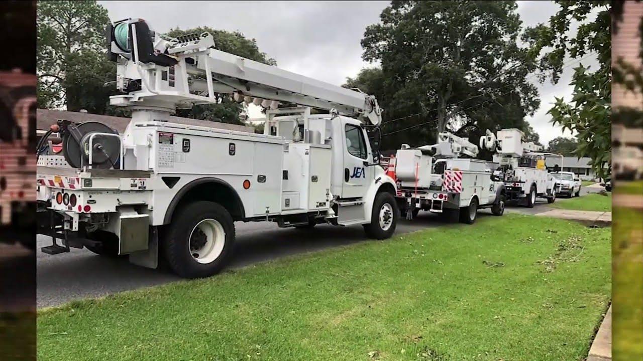 JEA crews in storm-ravaged Louisiana cross paths with Jacksonville native