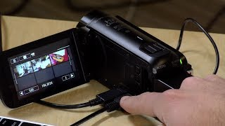 Canon Vixia Cameras : How to Transfer Video from Internal Memory