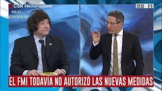 Milei logra que C5N diga que Macri es socialista- 13/08/19