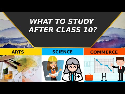 What To Do After 10th? Arts, Commerce, Science || Selecting The Best Stream After Class 10 In 2020