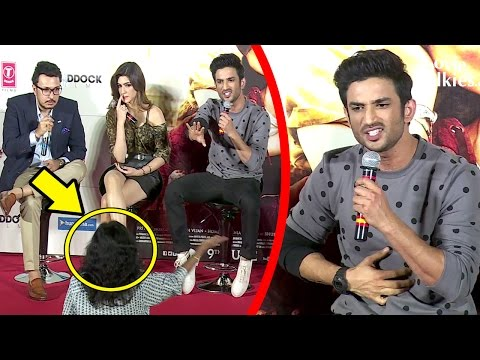 Thumbnail: ANGRY Sushant Singh Rajput FIGHTS With Reporter In Public Asking About Pakistan Incident