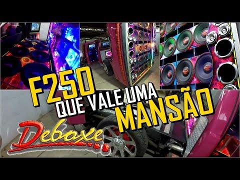 F250 QUE VALE UMA MANSÃO - 7 TONELADAS DE SOM ! PANTERA COR DE ROSA !
