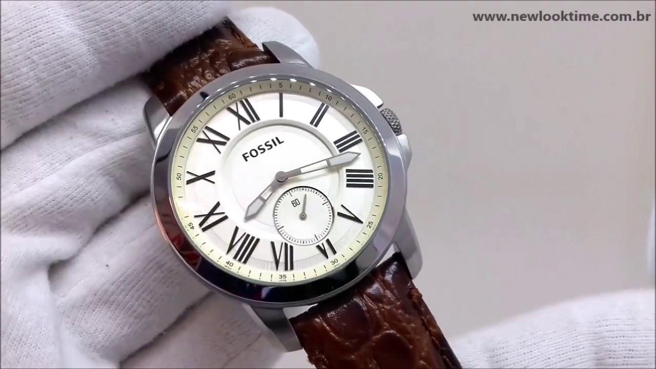 c637a8696c9e94 Relógio Fossil Masculino FS4963/0XN - NLTime Relógios - YouTube
