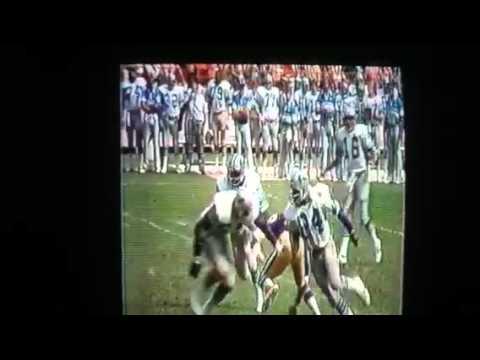 Billy Sims debut 9/7/80