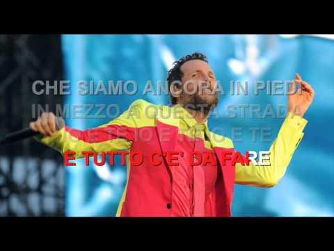Jovanotti - Il più grande spettacolo dopo il big bang - Karaoke con testo
