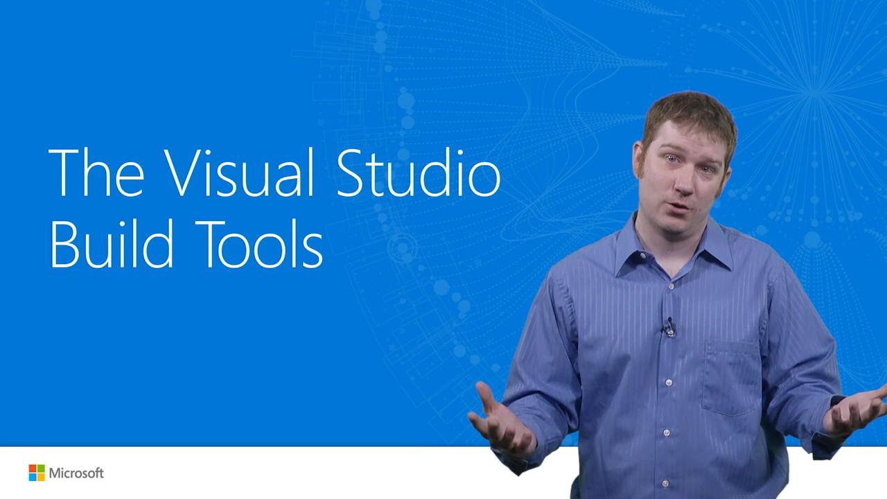 Visual Studio 2017 Launch The Visual Studio Build Tools