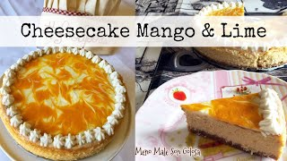 MANGO & LIME CHEESECAKE