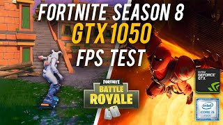 Fortnite Season 8 fps test GTX 1050 HIGH settings | HP Omen 15 i5 7300HQ