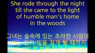 Chris de Burgh - the girl with April in her eyes lyrics (가사 한글 번역)