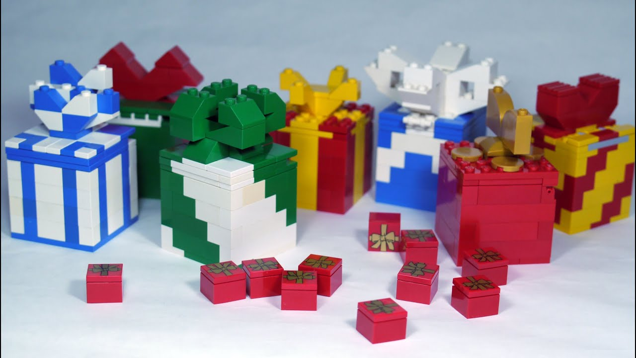 How To Build LEGO Gift Box / Present - YouTube