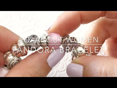 A Womens Themed Pandora Bracelet