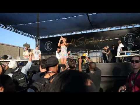[LIVE] Goapele & Hieroglyphics - Make your Move / Closer (Hiero Day 2014 Oakland, CA)