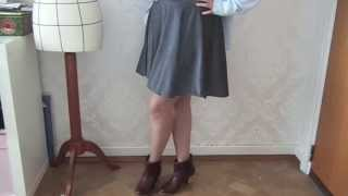 comment coudre une jupe qui tourne