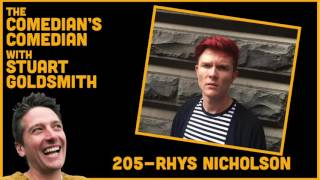 The Comedian's Comedian - 205 - Rhys Nicholson