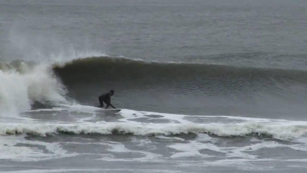 Surfing Long Beach New York March 15 2010